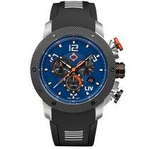 Liv Watches LIV GX1 Swiss Chrono Steel Blue Dial 1220.45.122