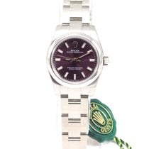 Rolex Oyster Perpetual 26mm Red Grape NEW