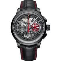 Maurice Lacroix Masterpiece Chronograph Skeleton MP6028-PVB01-...