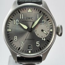 IWC Big Pilot Rhodium Dial Father & Son Watch Set