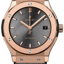 Hublot Classic Fusion 42mm Automatic 18K Rose Gold Mens Watc