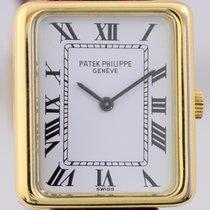 Patek Philippe Gondolo Rectangular Lady Hand Wind Vintage 18K...