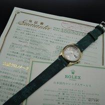Ρολεξ (Rolex) DAY-DATE 1803 18K Gold with Original Silver Grey...