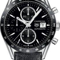 TAG Heuer Carrera Calibre 16 Chronograph Black Strap CV201AJFC...