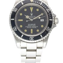 Rolex Oyster Perpetual Date Sea Dweller Triple Six Matt Dial