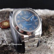 勞力士 (Rolex) 116300 Datejust II Blue Roman Dial Smooth Bezel [N...