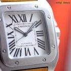 Cartier Men's Santos 100 XL Automatic Watch Steel on...