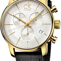ck Calvin Klein City Chrono K2G275C6 Herrenchronograph Swiss Made