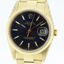 Rolex Date 15238 solid 18K Yellow Gold Watch SERVICED by Rolex...