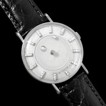 Jaeger-LeCoultre 1957 Vintage Galaxy Mystery Dial - 14K White...