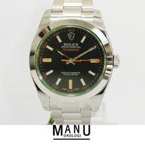 Rolex Milgauss Vetro Verde New Ref.116400GV