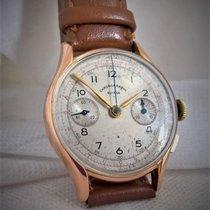 Chronographe Suisse Cie 18ct vintage chrono suisse Telemetre,...