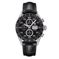 TAG Heuer Carrera Black Dial Automatic Chronograph Men's...
