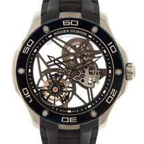 Roger Dubuis Pulsion Titanium Transparent Skull Manual Wind...