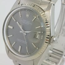 Rolex Oyster Perpetual Datejust  ref 1601 white gold besel