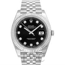 Ρολεξ (Rolex) Datejust 41 Black Steel/18k White Gold Dia 41mm...