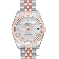 Rolex Datejust Lady 31 White MOP Steel/18k Rose Gold Dia 31mm...