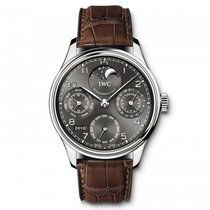 IWC Portuguese Perpetual Calendar Perpetual Moonphase Mens Watch