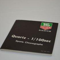TAG Heuer Manual Anleitung Quartz 1/100 Sports Chrono