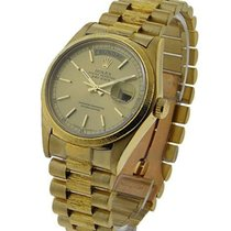 Rolex Used 18078_used Mens Yellow Gold Single Quick President...