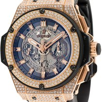Hublot King Power Split Second Rose Gold 48mm Custom Watch...