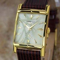 浪琴 (Longines) Swiss Made 1940s Mens Gold Plated Manual Luxury...