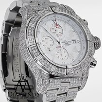 ブライトリング (Breitling) Super Avenger White Dial A13370 13ct Fully...