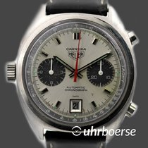 "Heuer Carrera Vintage Chrono 1153 ""Panda-Dial"" Automatik um 1970"