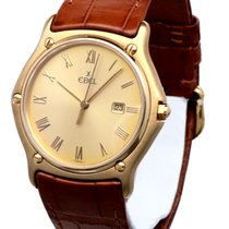 Ebel Classic Wave Yellow Gold Roman Dial 18 krt (35 mm)