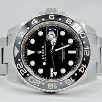 Rolex Gmt-master II 116710 Steel Black Ceramic Bezel Papers...