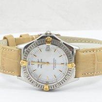 Breitling Sirius Perpetual Damen Uhr Stahl/gold Creme Top...