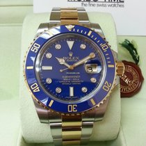 勞力士 (Rolex) 116613LB Blue Gold Steel Ceramic Submariner Date...