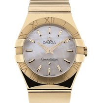 Omega Constellation 27 Quartz Yellow Gold
