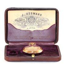 Glashütte Original Julius Assmann Taschenuhr Gold Savonnette