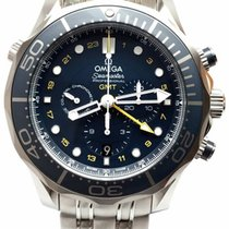 Omega Diver 300M Co-Axial GMT Chronograph 44mm 212.30.44.52.03...