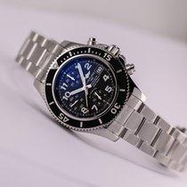 ブライトリング (Breitling) Superocean Chronograph Black Dial