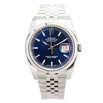 勞力士 (Rolex) Datejust White Gold And Steel Blue Automatic...