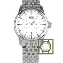 Oris Artelier Regulateur 40.50mm White Dial Full Steel NEW