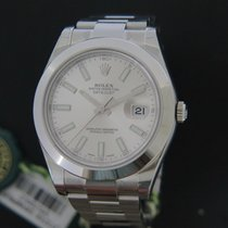 Rolex Oyster Perpetual Datejust II Silver NEW