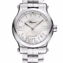 Chopard Happy Sport Stainless Steel & Diamonds Ladies Watch