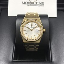 Audemars Piguet Royal Oak Lady Quartz 33mm 18K Yellow Gold...