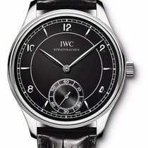 "IWC --- Portuguese ""vintage"" Hand Wound Collection..."