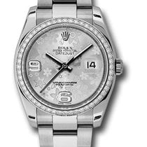 Rolex Unworn 116244 Datejust 36mm in Steel with White Gold...
