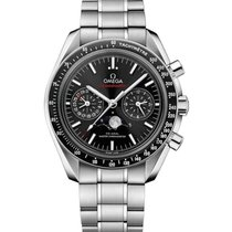 Omega Speedmaster MoonPhase Moonwatch 44mm  Steel Watch...