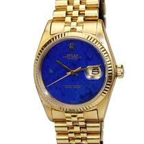 Rolex Rare Lapis Dial Datejust ref 16018