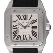 Cartier : Santos 100 XL :  W20073X8 :  Stainless Steel