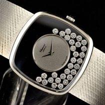 Chopard 18k WG Happy Diamonds - Men's wristwatch
