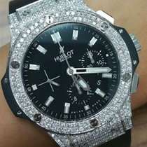 Hublot 301.SX.1170.RX.1104 Diamond Black Big Bang Steel 44mm