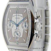 Franck Muller Havana Chronograph Steel on Bracelet Mens Watch...