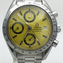 Omega Speedmaster Date Chrono. Yellow Dial Japan  Special Edition
